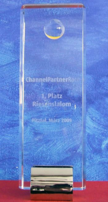 Siegerpokal ChannelPartnerRace Pitztal 2009