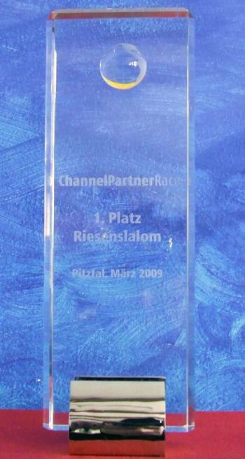 Siegerpokal ChannelPartnerRace Pitztal 2009