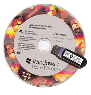 Windows 7 Installation via USB