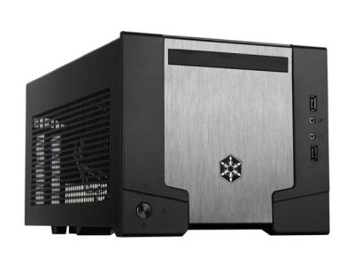 Silverstone SST-SG07B Mini-Gaming-PC