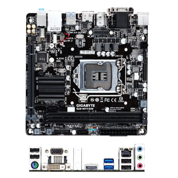 Gigabyte GA-H110N DDR4