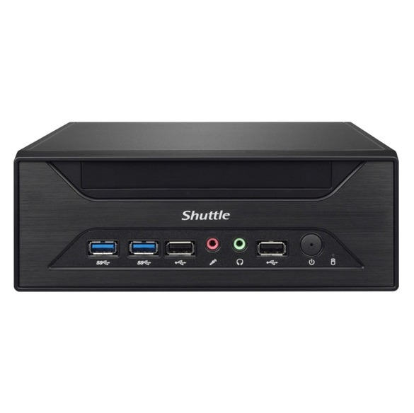 Shuttle XPC slim XH110 front