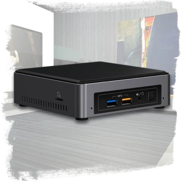 Intel NUC Kit NUC7i3BNK Mini PC