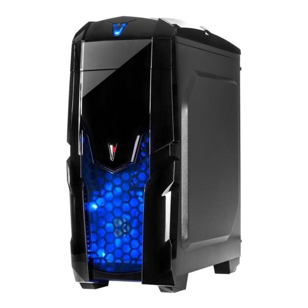Inter-Tech Q2 Illuminator blue seitlich rechts