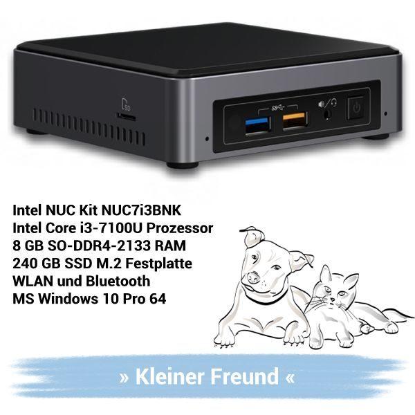 Kleiner Freund Intel NUC