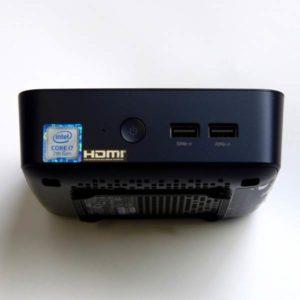 Asus VivoMini UN65U Test Frontseite