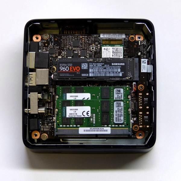 Asus VivoMini UN65U Test Innenraum