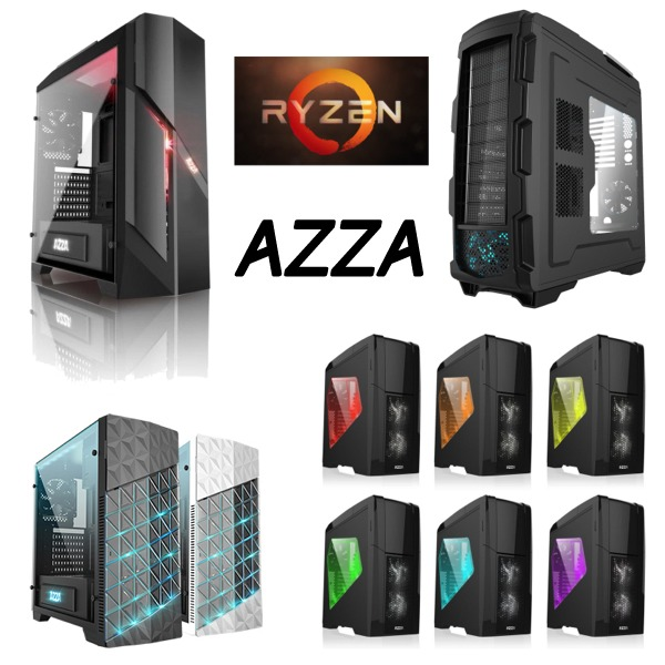 Gaming PC AZZA ryzen high flexi