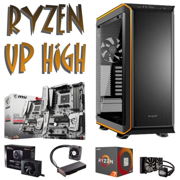 Gaming PC RYZEN UP HIGH