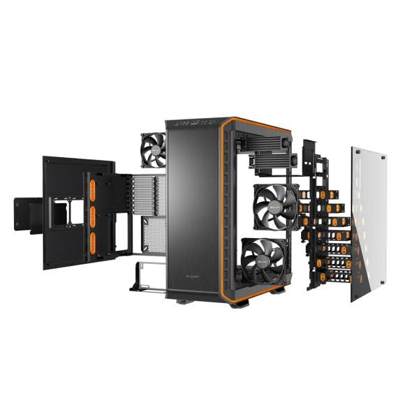 be quiet Dark Base 900 Pro Orange zerlegt