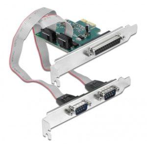 Serielle und parallele PCIe-Karte